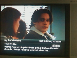 My So Called Life on Sundance channel. =]. Lovely to see after work…