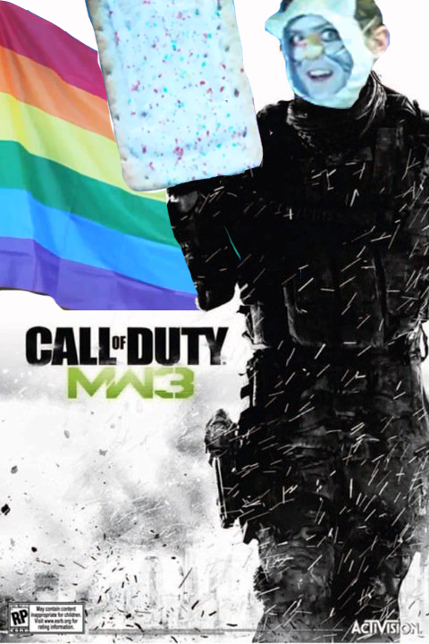 The new modern warfare 3 cover.