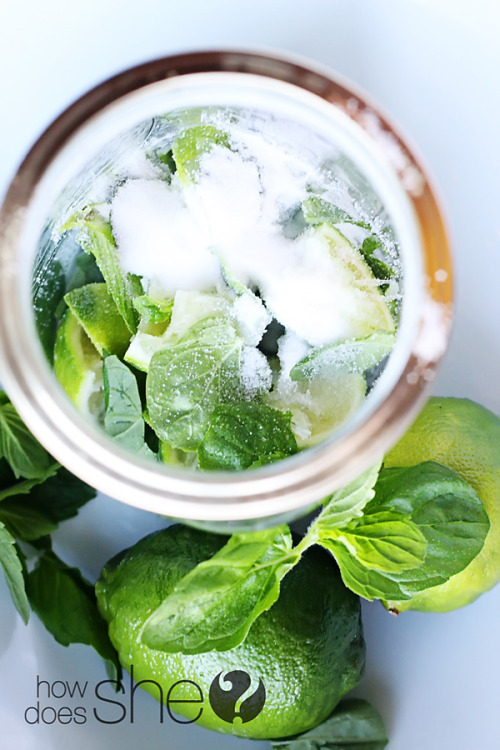(via Old Fashioned Mint Limeade | How Does She…)