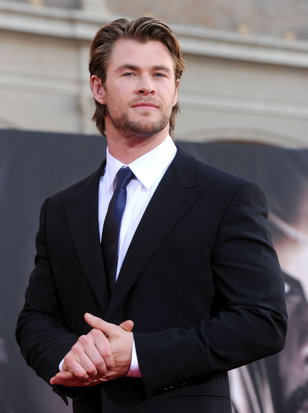 Chris Hemsworth at the THOR premiere