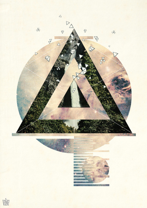 Flutter // Bonobo Digital Collage Illustration, DG DESIGN 2011.