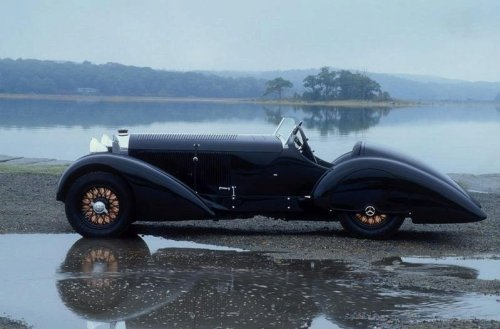 "steampunkvehicles:  1930 Mercedes-Benz ""Count Trossi"" SSK roadster, 115 mph. Approximately 372 of these Sport models were produced between 1927 and 1934."