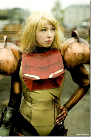 Jenni Kallberg as Samus Aran from Metroid Prime