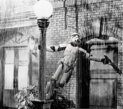 Trooper Singin' in the rain
