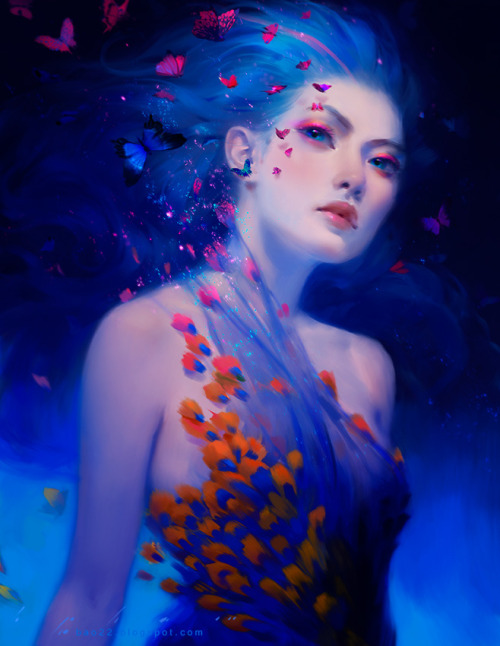 magnolius:  Blue Dust by Bao Pham