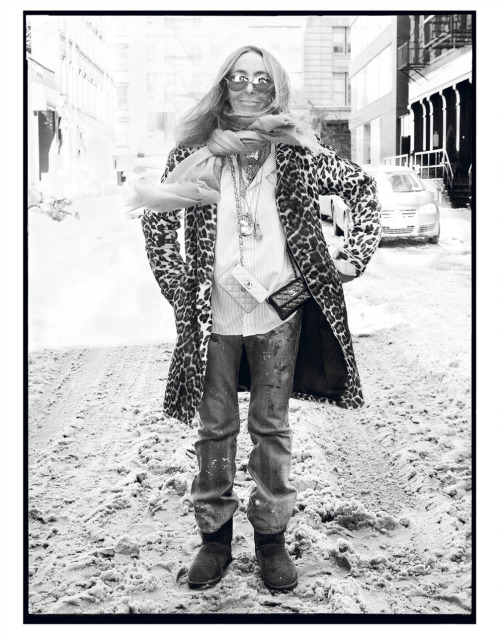 One of my favourite stylists, Carlyne Cerf de Dudzeele, shot by Steven Meisel for Interview magazine.