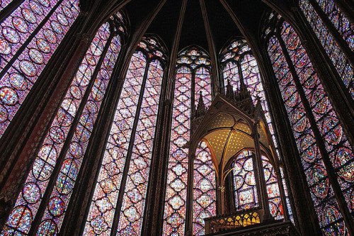 La Sainte-Chapelle, Paris by Dimitry B on Flickr.