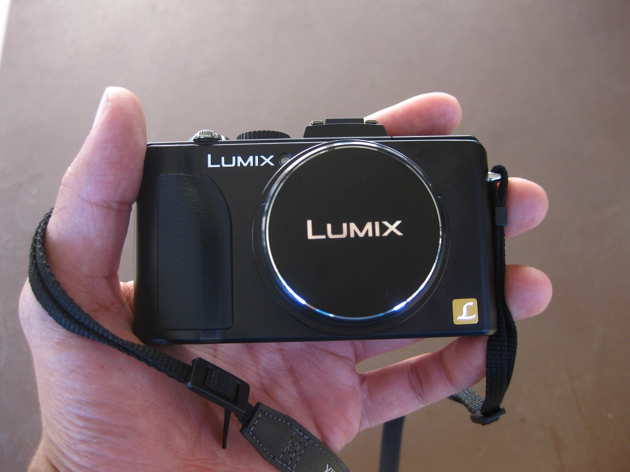 Panasonic Lumix LX5 My new toy! Simple and it gets the job done.