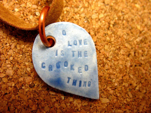 """o love is the crooked thing"" by panavatar on Flickr."