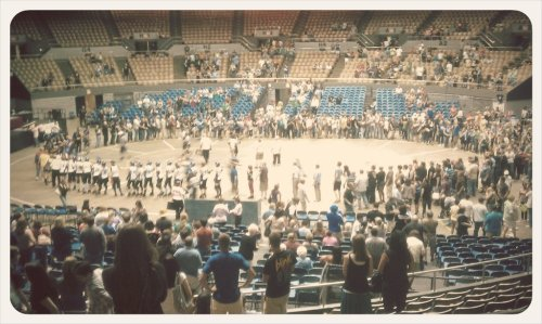 My first roller derby experience, was awesome.