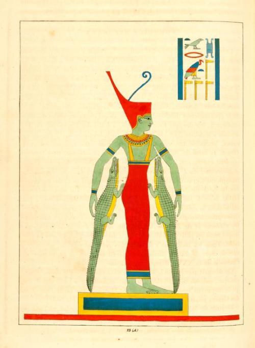 egypt history mythology wadjet buto creation Pe Dep Per-wadjet Uraeus lower egypt nile river delta 1820s