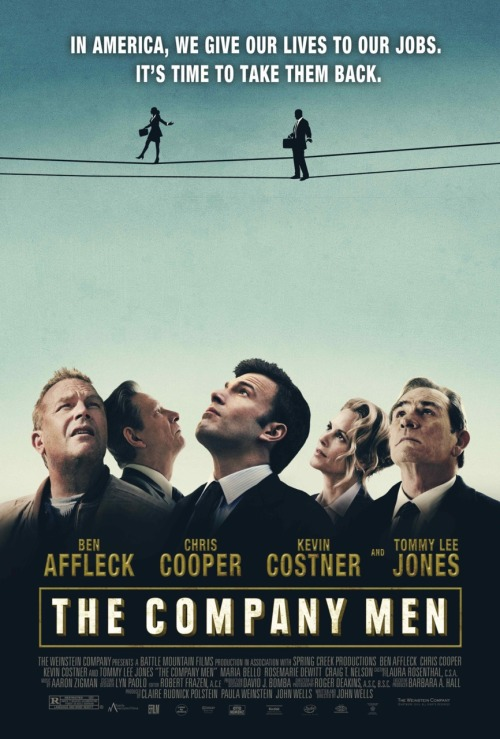 "I finally watched The Company Men! It was super good (um, obviously, it had Chris Cooper) but also pretty depressing. I still recommend it, though!  One thing that did totally throw me for a loop was they have various clips from Marketplace throughout, which is pretty cool, but confused the heck outta me when I paused my KQED stream, hit ""play"" on the movie, and heard Kai Ryssdal's voice."