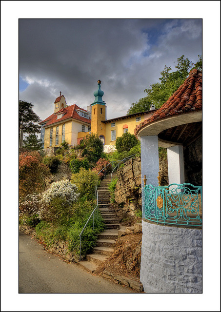 Portmeirion (2) by -terry- on Flickr.