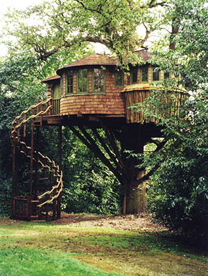 i want to live in this amazingly awesome treehouse <3