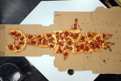 bloopidybloop:  codegreenman:  PIZZA SHARK  UM YES PLEASE   WHAT WHAT WHAT.