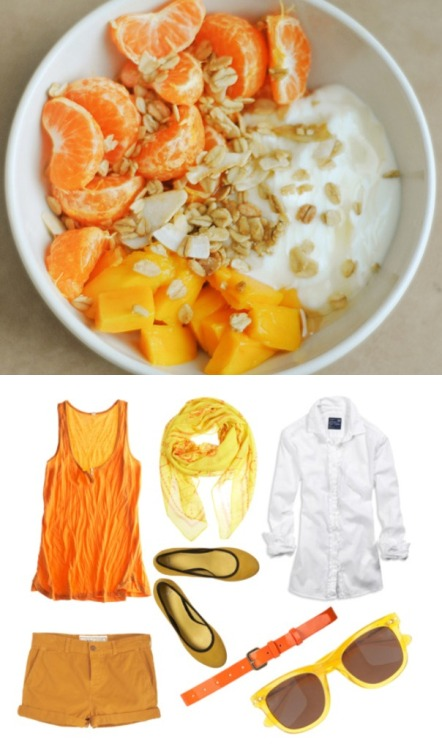 Outfits inspired by Dishes #3 Outfit Break Down: My Polyvore Fruit photo: Ephe's Tumblr Summer Sunday Morning Breakfast & Outfit! Enjoy!
