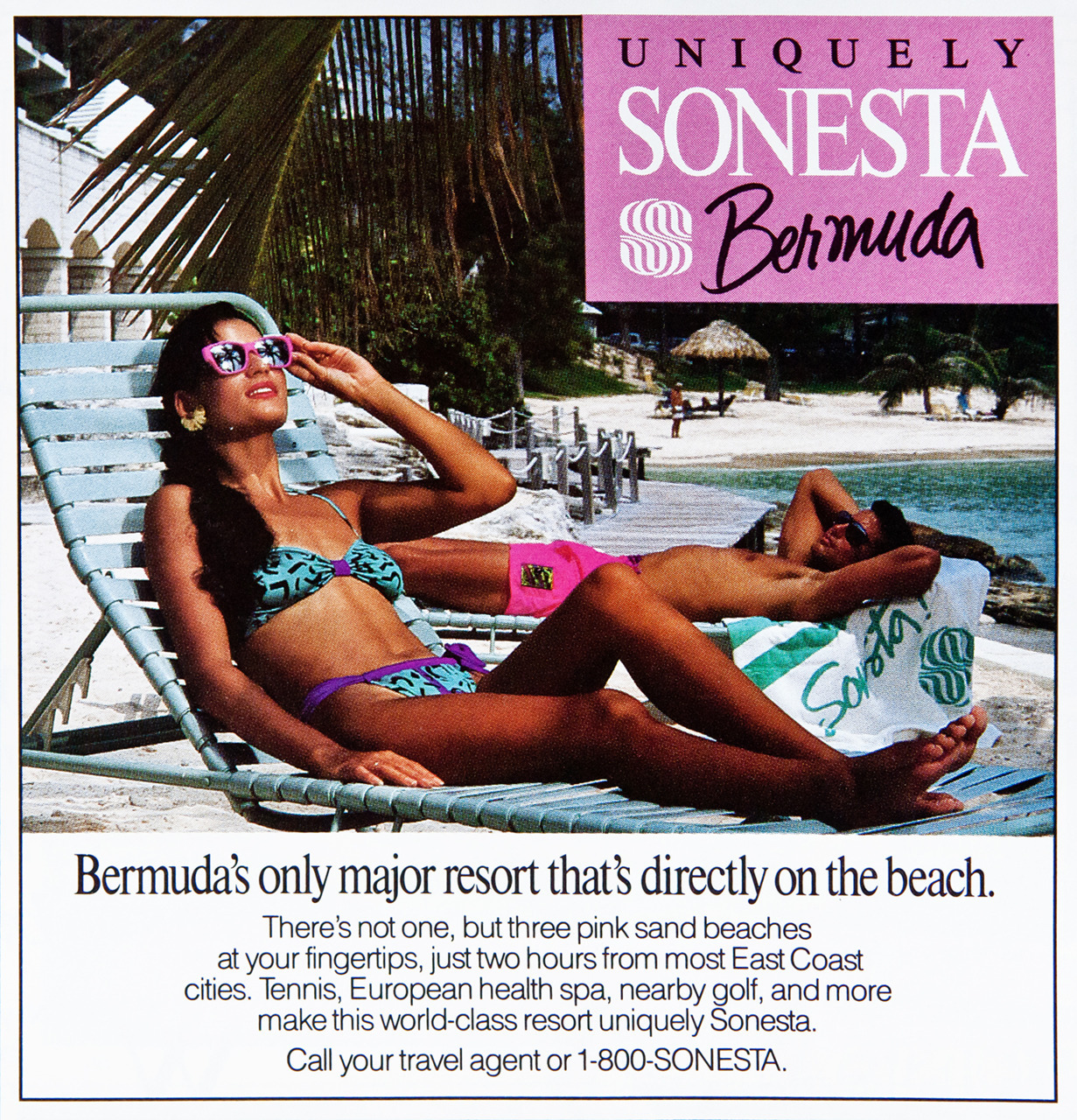 Sonesta Bermuda Advertisement - Gourmet: May 1991