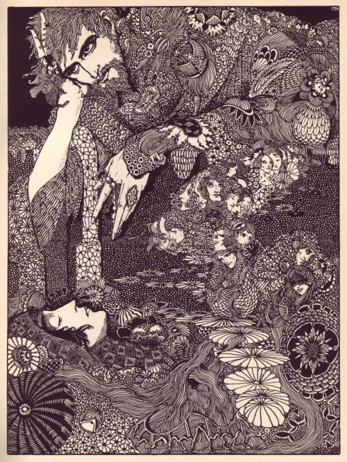 limmynem:  Harry Clarke, Illustrations for E. A. Poe  Instant inspiration!