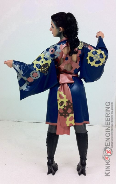 Archean's steam punk kimono - by Dawnamatrix.com  Outstanding!!!