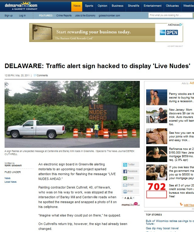 Niceee. From: The Daily Times (Local News) on 5/20/2011 http://www.delmarvanow.com/apps/pbcs.dll/article?AID=2011110520025