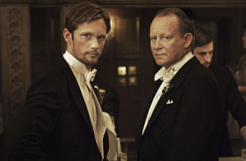 Alexander and Stellan Skarsgård together in Melancholia