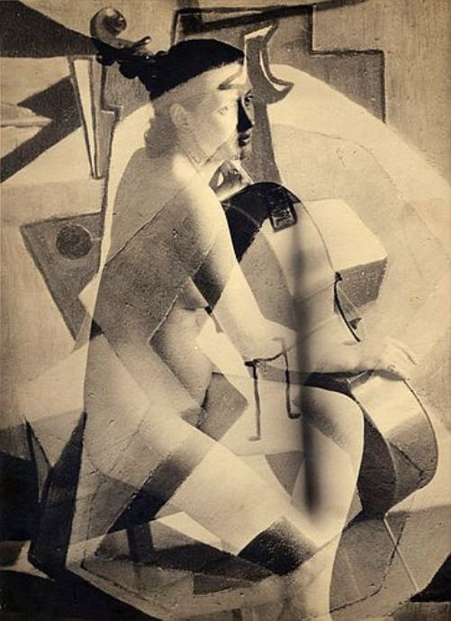 regardintemporel:  Francis Bruguière - Nu Féminin, 1928