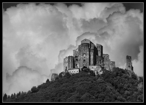 Abbey  among the clouds - Sacra di San Michele