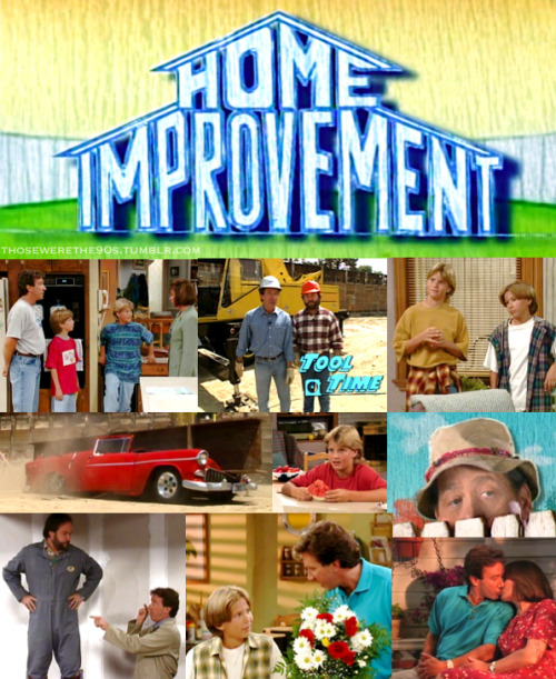Favorite Television of the '90s  Home Improvement | 1991-1999