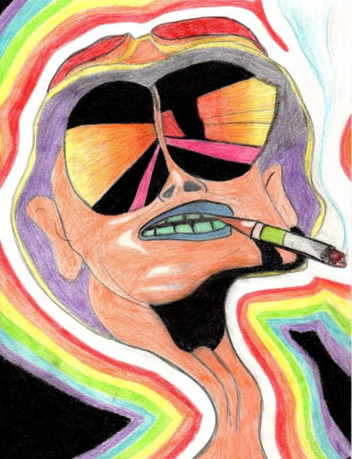 "fuckyeahpsychedelics:  ""Fear And Loathing In Las Vegas"""