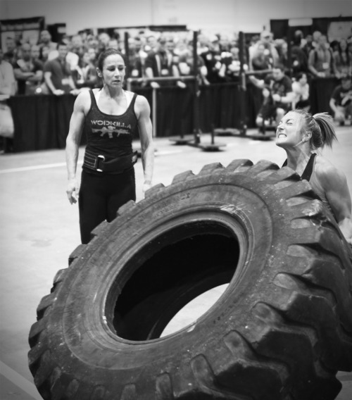 Tire Flip via CrossFit