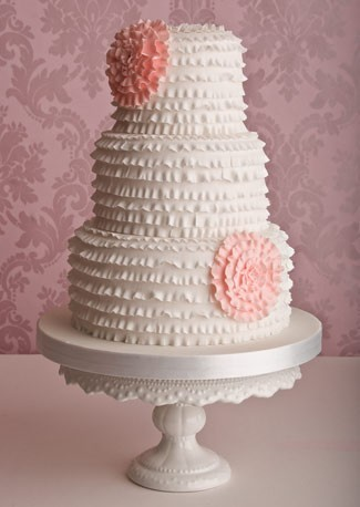 ruffle cake. so perfect.  (found here.)