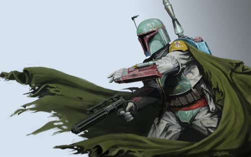 tiefighters:  The Fett - by Randall Mackey  (Via: svalts)