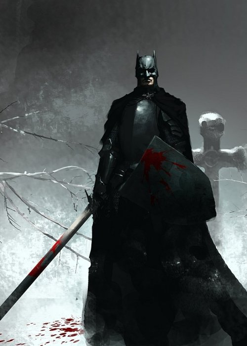 *SWOON* ilikeartalot:  dark knight by Igor Kieryluk