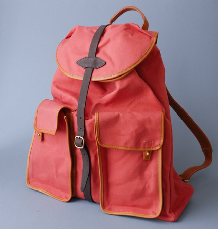 This backpack is hot…..