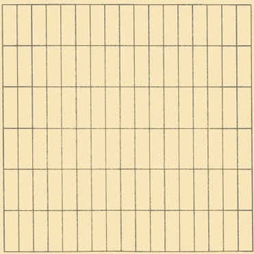 Agnes Martin, On A Clear Day, 1973