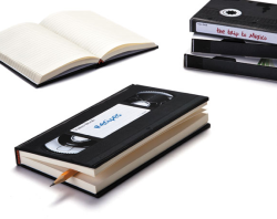 VHS Tape Notebook!