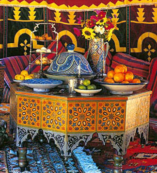 MOROCCON COFFEE TABLE