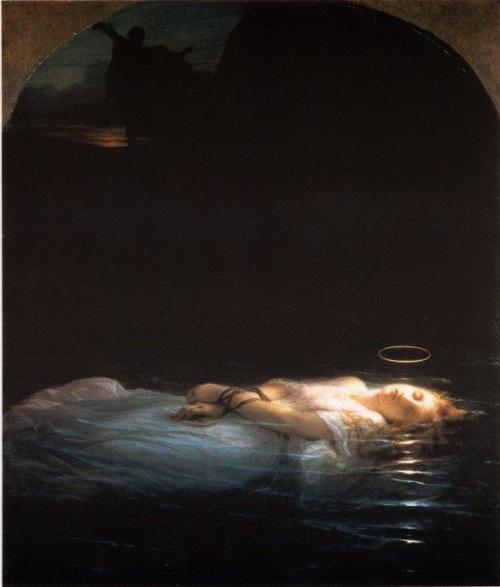groovecats: The Young Martyr, Paul Delaroche 1855