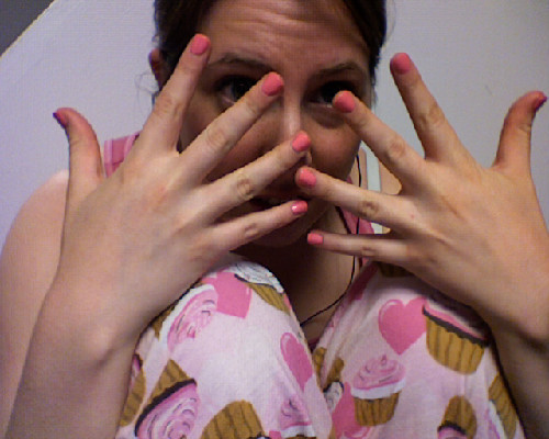 I am SO PINK. How did this even happen??