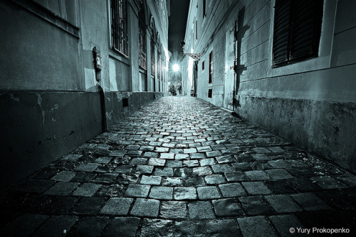 Night Walk in Budapest by -yury- on Flickr.