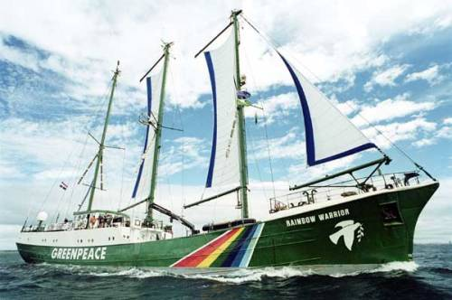 Greenpeace is currently in the process of rebuilding their Rainbow Warrior, the world's first purpose built environmental ship. The old ship has been working for 52 years, 21 of those years solely for Greenpeace, and it's time for it to retire. The new ship will do all the things that old ship did and more:promote clean energy, defend our forests and protect our oceans. With this ship Greenpeace can go to every part of the earth with minimum impact on our environment. It can encourage people to be greener and more aware whilst targeting those that knowingly spoil nature for their own gain. If you want, you can make a donation towards finishing the ship here