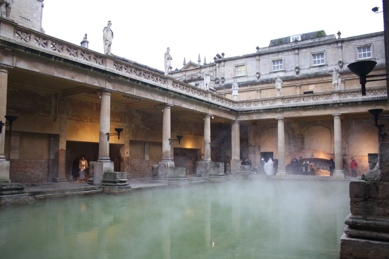 THE GREAT BATH … in awe at the privilege … the experience was beyond me