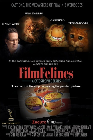 This really gets my dander up!  Steve Weiss of Zacuto does a Film Felines without me! How dare he! There will be repercussions!!