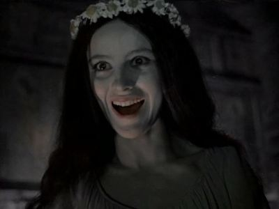 Natalya Varley in Viy(1967), one of the cutest cinematic witches ever.