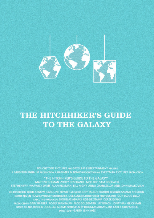 Hitchhiker's Guide to the Galaxy by britishindie