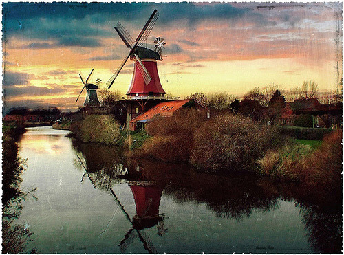 Greetsiel, Germany - this small town in Northwestern Germany (Lower Saxony) was the last stop of our holiday last summer. (by lizzy pe.(absent for a bit))