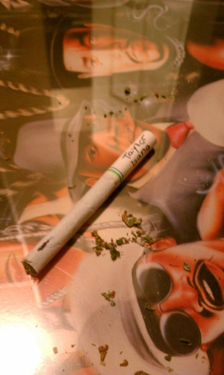 Wonderful mix of flavors, rolled on a sick picture. (Camel crush and Cali Kush)