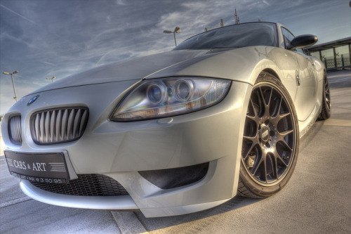 sascha-bentz-photography:  BMW Z4 M Coupe Cars and Art Mannheim HDR on Flickr. by Sascha Bentz Photography