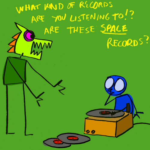 explodingdog:  What on earth are you listening to?!
