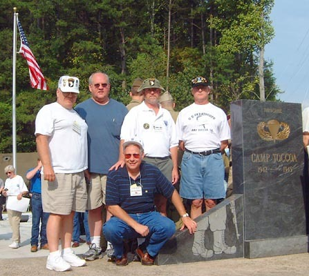 Currahee veterans reunite in Toccoa.
